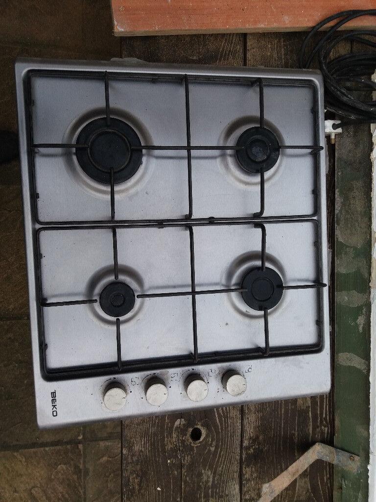 Beko 4 burner 60cm gas hob, all working