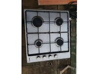 Beko 4 burner 60cm gas hob, all working