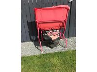 Ladybird kids swing seat