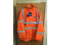 Waterproof coat(storm jacket) size XL this is a new item has never been worn 3/4 length