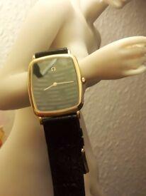 Vintage Omega De Ville Ile de France quartz watch of 80s