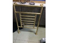 brass towel rad