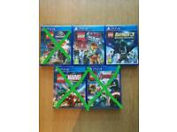 LEGO PS4 games