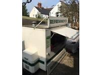 Catering trailer burger van