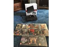 PlayStation PS3 boxed with games and controller