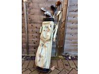 *** Retro DUNLOP golf bag & Clubs ***