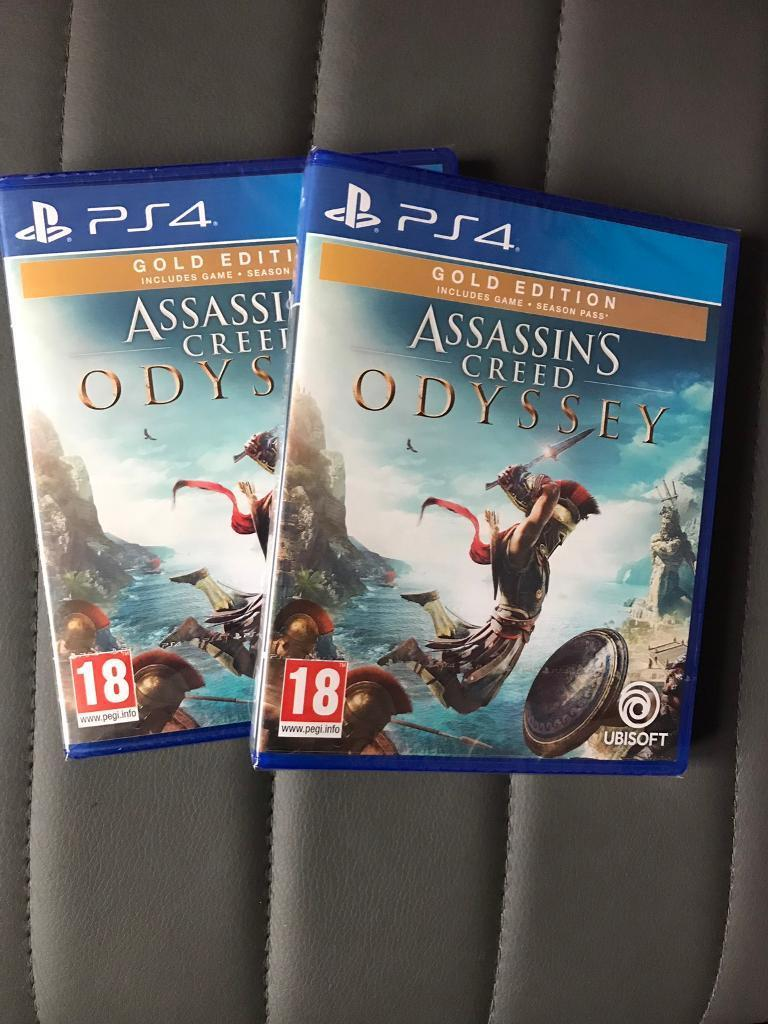 Assassins Creed Odyssey Gold Edition Ps4 In Bethnal Green London Gumtree