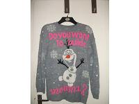 OLAF Christmas Jumper