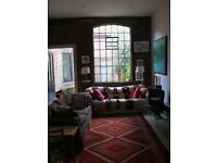 Jan-Mid April let: 1300sq ft 3-bed garden warehouse in heart of Peckham