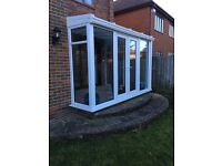 Conservatory for sale, all dismantled with fixtures & fittings including lights!!***