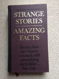 Reader's Digest - Strange Stories and Amazing Facts - Hardback