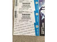 2 x Robbie Williams Tickets- St Mary's Stadium