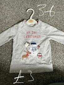3-6 month Christmas t-shirt