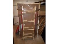 BPS DELUXE WOODEN LOFT LADDER 1300 x 700mm WITH HATCH - BRAND NEW!