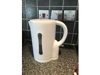 Kettle in white