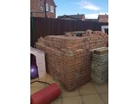 Used paving blocks