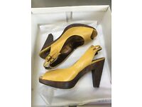 Next Ochre and Wood Shoes size 6 EU 39