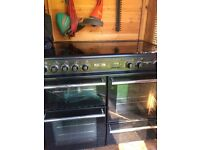 Leisure black range cooker