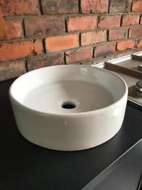 Cooke an Lewis counter top bathroom basin