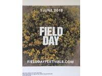 MUST GO!!! Field Day full weekend ticket