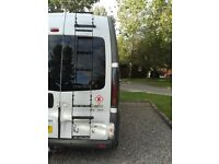 Rear door ladder for Renault Trafic, Vivaro, Primastar Hi-top