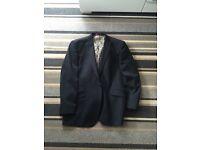 Gents black suit