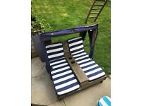 Kids sun lounger