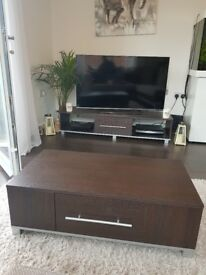 Coffee table, T.V stand & matching side board