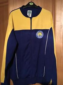 Leeds United retro bomber jacket