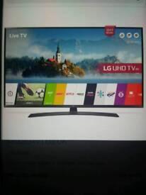 55 inch LG 55UJ634V 4K Ultra HD Freeview HD Smart HDR LED TV