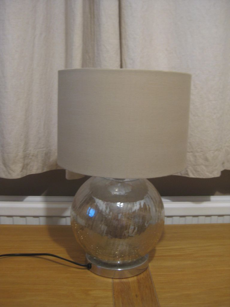 Next mink crackle table/floor/ceiling lamps