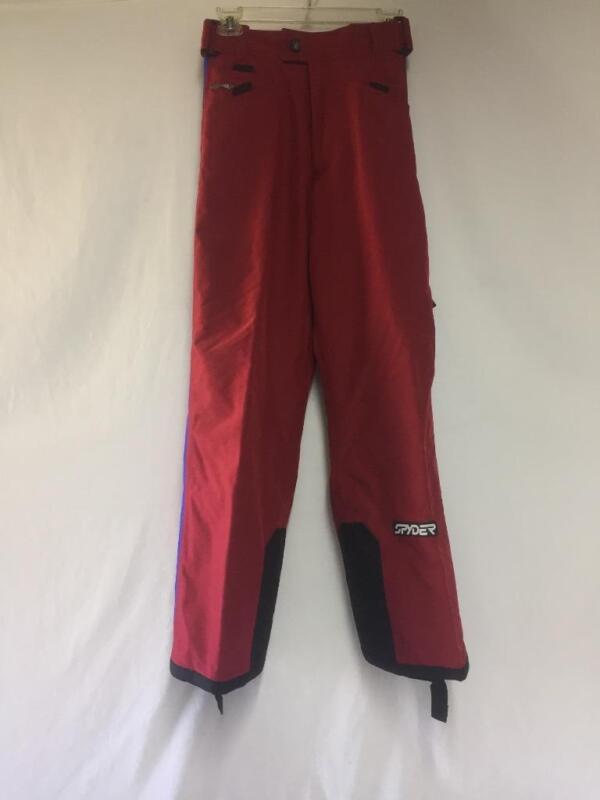 Spyder Men's XTL Snow Ski Pants Color Red and Blue Size Medium NEW