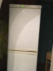 AEG fridge freezer, öko-santo 3175KG, twin compressor, fully working, rare