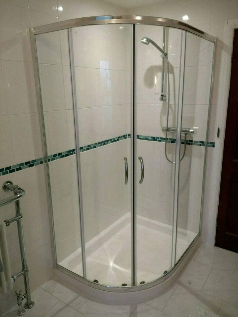 Corner Shower Enclosure - 6mm Glass - Brand New Boxed.