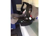 Graco Baby Car Seat And Car Base (From Birth)