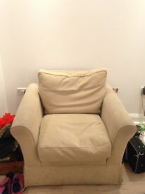 Barker & Stonehouse 3 seater sofa & chair