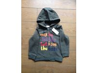 Boys NEW with tags jacket 12-18 months
