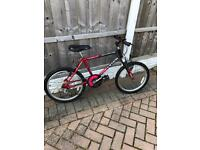 Child's Raleigh rough rider bike