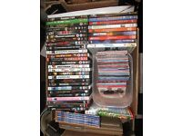 Large box of top title DVDs - ideal car boot sale/EBay etc - no time to do it! BARGAIN