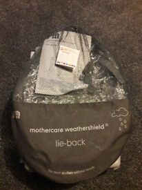 Mothercare Lie-back Weathershield