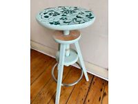 Vintage Adjustable Hight Wooden Stool