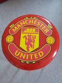 manchester united bar stool