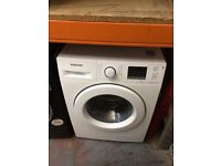 SAMSUNG 8KG WASHING MACHINE ECO BUBBLE WHITE RECONDITIONED