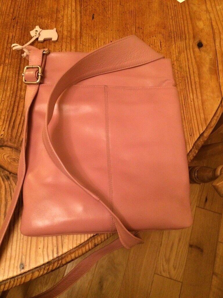 Radley messenger handbag. Pink. Excellent condition