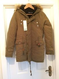 Brand new, with labels, Parka Coat.