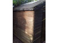 GARDEN SHED L8 X W6 X H7 FT