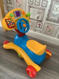 Vtech 3in 1 Grow and Go ride on