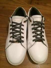 Men's White Ted Baker trainers