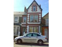 3 Month Short Term Lease, Double Room Shared House in Roath