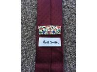 Luxury 100% silk Paul Smith tie - £70 new